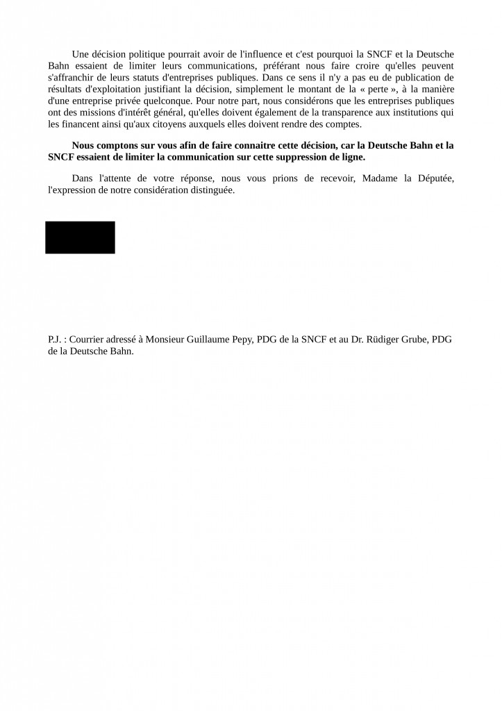 Courrier accompagnement Parlement EU modele page2