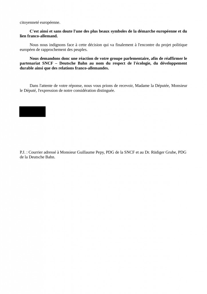Courrier accompagnement Parlement FR modele page2
