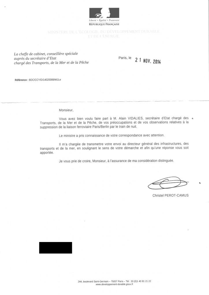 Reponse Alain Vidalies